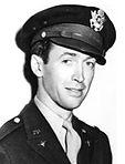 Jimmy Stewart in his Air Force Uniform