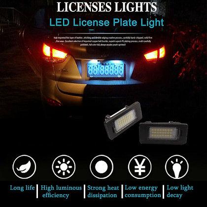 2xLED License Plate Light Error Free For BMW 135i 325i 328i 335i 528i 535i X3 X5