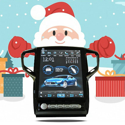 Android 8.1 Vertical Screen 4+64GB Car GPS Radio For Maserati Ghibli 2014-2019
