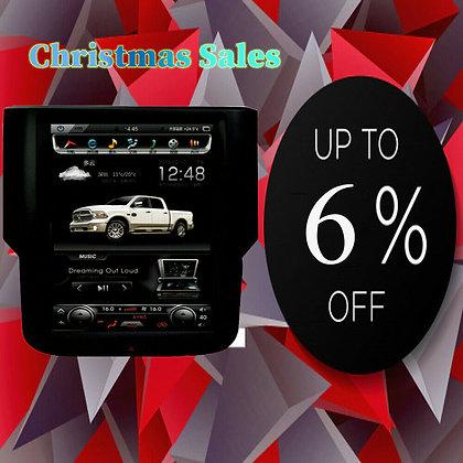 2+32GB Android Tesla Style Car GPS Radio for Dodge Ram 1500 2500 3500 2013-2019