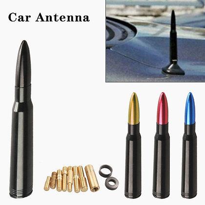 Black Color - Roof Antenna Modified Bullet Aluminum Off-road Vehicle Car Decor