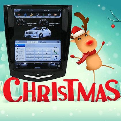 Android Tesla Vertical Screen Car Radio GPS For Cadillac ATS SRX CTS XTS 2013+