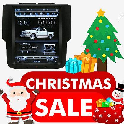 "64GB 10.4"" Tesla Vertical Screen Car GPS Radio For Dodge Ram 1500 2500 2013-2019"