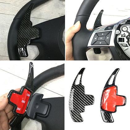 Carbon Fiber Steering Wheel Shift Paddle For Benz Benz GLA GLK CLA before 2014