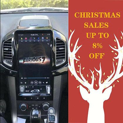 "13.6"" 4+32GB Tesla Style Car GPS Radio Carplay For Chevrolet Captiva 2013-2017"