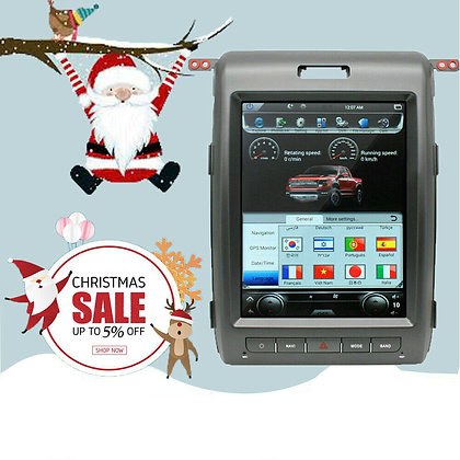 """12.1"""" Android 7.1 Tesla Style Car GPS Radio Navi For Ford F-150 Raptor 2009-2014"""