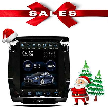 4+64GB Radio Tesla Vertical Screen Car GPS For Maserati Quattroporte 2013-2017
