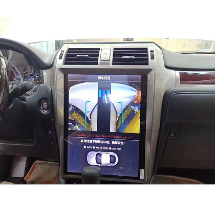 4+32GB Large Screen Tesla Style Car GPS Radio Navi Android 9.0 For Lexus GX460