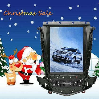 4+64G Android 8.1 Tesla Vertical Screen Car GPS Radio For Cadillac SRX 2009-2012