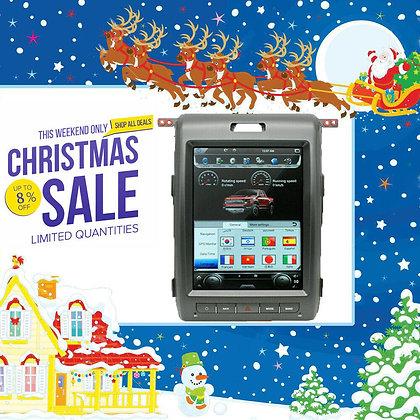 "12.1"" Android 8.1 Radio Tesla Screen Carplay GPS 4+32GB For Ford F-150 2009-2014"
