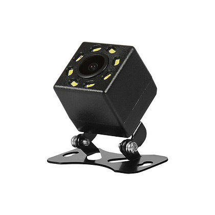 Universal 8 LEDs 170° CCD Car Rear View Camera Backup Parking Waterproof IP68