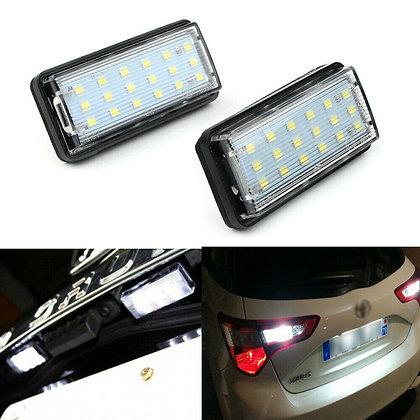 2pcs For Toyota J100 J120 J200 Land Cruiser Prado LED License Plate Light Lamp