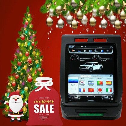 Android 8.1 Tesla Style Car GPS Radio Carplay 32G For Ford F150 Raptor 2015-2019