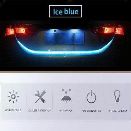 1.2M Car Rear Trunk Strip Light Tailgate RGB Brake Turn Signal Flow LED