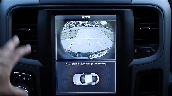 "10.4"" Tesla Style Car GPS HD Navigation Radio for Dodge Ram 1500 2500 2014-2018"