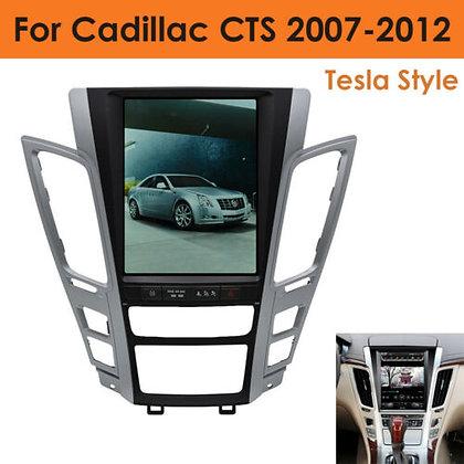 10.4''Tesla Style Radio GPS Navigation HD Screen 32GB For Cadillac CTS 2007-2012