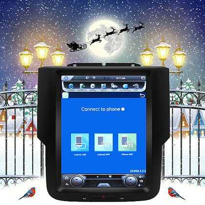 "10.4"" Vertical Screen HD Car Radio GPS Navi For 2017 Dodge Ram 1500 4x4 Crew Cab"