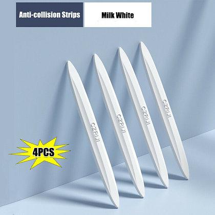 White Universal Door Edge-Scratch Anti-collision Protector Guard Bumper Strip