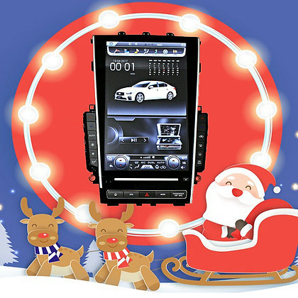 "12.1"" Tesla Style Vertical Screen Car GPS Radio For Infiniti Q50 Q50L 2015-2018"