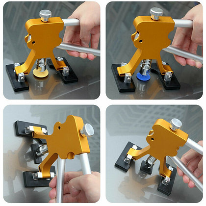 Auto Car Body Dent Repair Paintless Tool Damage Remover Puller Lifter Dint Hail