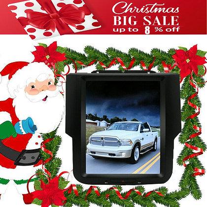 "2+64GB 10.4"" Tesla Style Screen Car GPS Radio Dash For Dodge Ram 1500 2013-2019"