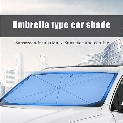 Car Sun Shade umbrella Custom Made Car Heat Shield Windshield Visor SunShade 的副本