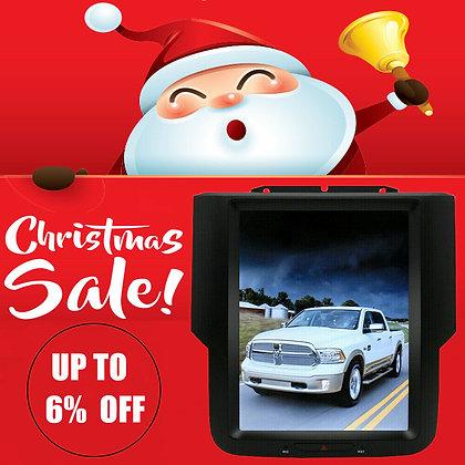 "10.4"" Vertical Screen Car GPS Radio 32GB For Dodge Ram 1500 13-14-15-16-17-18-19"