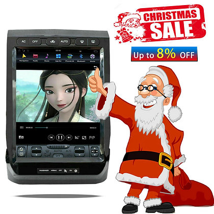 Android 9.0 Tesla Style Vertical Full Screen GPS Radio For Ford F-150 2015-2019