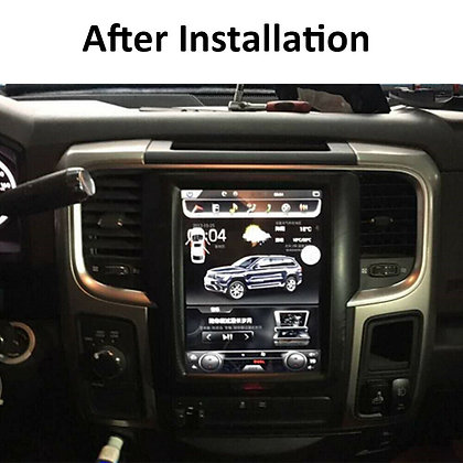 "10.4"" Android Tesla Style Car Radio GPS Navigation For Dodge Ram 1500 2013-2018"
