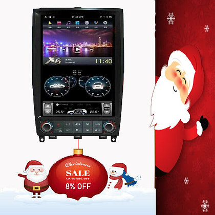 Android 9.0 Vertical Screen Car GPS Radio 4+32G For Infiniti EX25 EX35 2007-2013