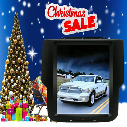 """10.4"""" Android 7.1 Vertical Screen Car Radio GPS For 2016 Dodge RAM 1500 Big Horn"""