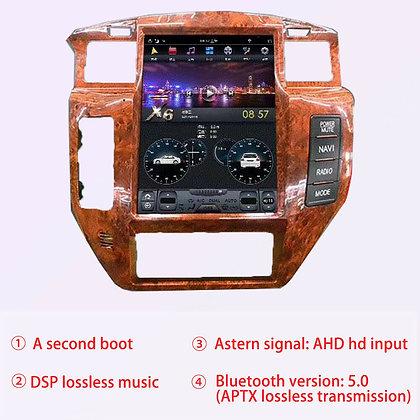 "12.1"" 4+32GB Tesla Style Car GPS Radio Carplay Android 9.0 For Nissan Patrol Y6"