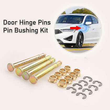 New Durable Door Hinge Pins Pin Bushing Kit For Ford F150 F250 F350 Bronco US