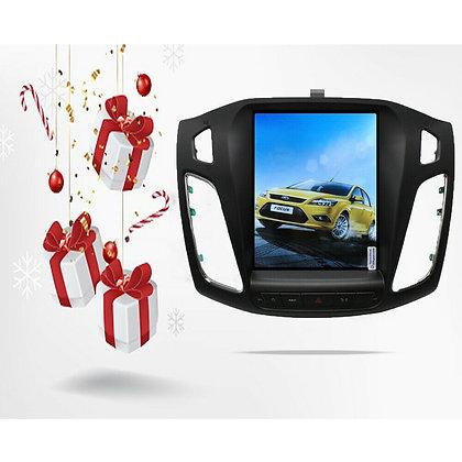 32GB Tesla Vertical Full Screen Car GPS Radio Headunit For Ford Focus 2012-2018