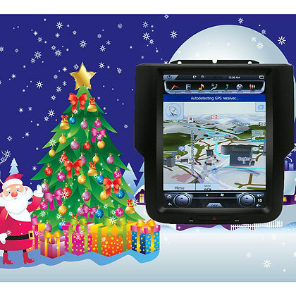 """10.4"""" Android7.1 Vertical Screen Car GPS Radio 32GB For Dodge Ram 3500 2013-2019"""