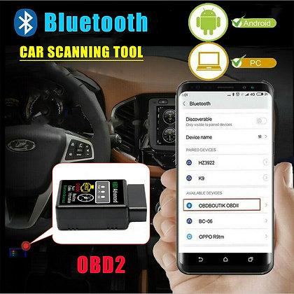 Car Bluetooth OBD2 Code Scanner Reader Automotive Diagnostic Tool OBDII ELM 327