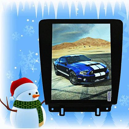 32G Tesla Vertical Full Screen Car GPS Radio Headunit For Ford Mustang 2010-2014