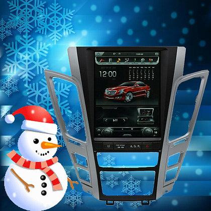 "10.4"" 4+32GB Vertical Screen Car Radio GPS Navigation For Cadillac CTS 2007-2012"