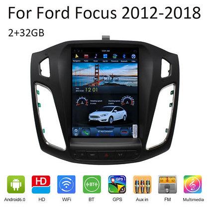 "10.4"" 32GB Tesla Style Car GPS Navigation For Ford Focus 2012-13-14-15-16-17-18"