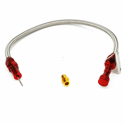 Stainless Flexible Transmission Dipstick For Chevy GM TH350 Tranny SBC BBC Trans