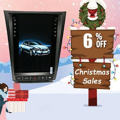 """11.8"""" 2+32GB Vertical Screen Car GPS Radio For Lexus GS300 GS450 GS460 2006-2011"""