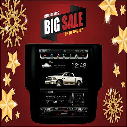"10.4"" Tesla Verticcal Car GPS Radio 32GB for Dodge Ram 1500 2500 3500 2013-2019"
