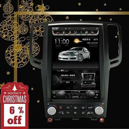 "32GB 12.1"" Android 7.1 Tesla Style Car GPS Radio For Infiniti G35 G37 2007-2015"