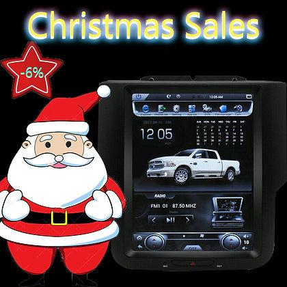 "10.4"" Vertical Screen Car Radio GPS For 2018 Dodge Ram 3500 Crew Cab Tradesman"