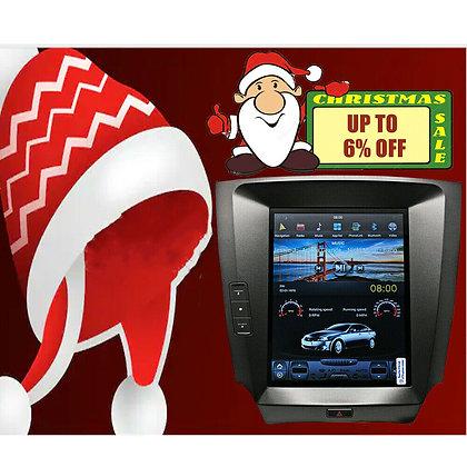 10.4'' Tesla Vertical Screen Car GPS Radio Navi for Lexus IS250 IS350 2007-2015