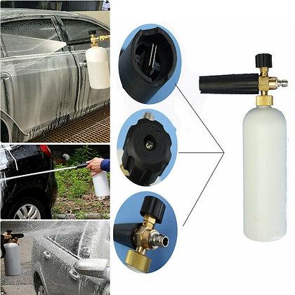 Car Snow Foam Lance Cannon Soap Bottle Sprayer For Pressure Washer Gun Jet Wash