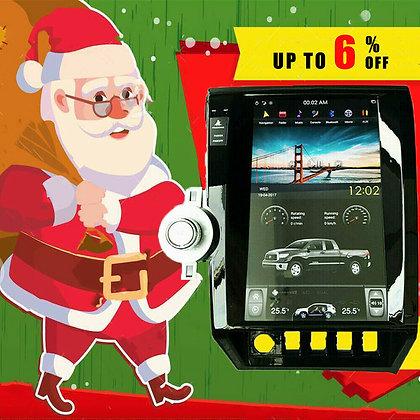 "13.6"" 2+32GB Tesla Style Car GPS Navigation HD Radio For Toyota Tundra 2007-2011"