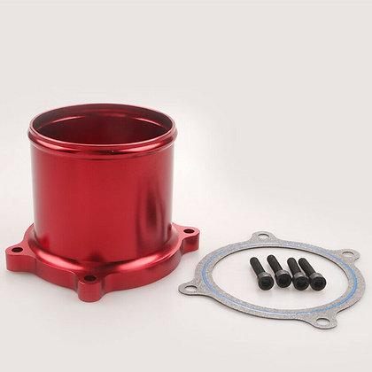 Red EGR Throttle Valve Kit Cummins Diesel Engine For Dodge Ram 07-17 6.7L
