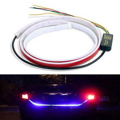 1.2M Strip Car Trunk Rear Light Tailgate RGB LED Brake Turn Signal Flow US