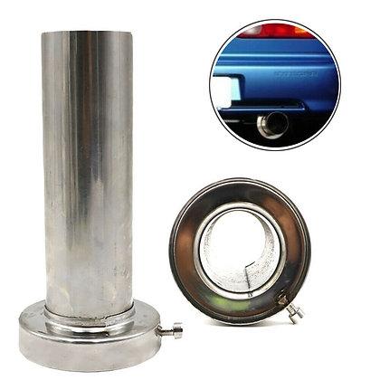 3.5'' Silver Universal Insert Removable Stainless Exhaust Silencer Muffler Steel